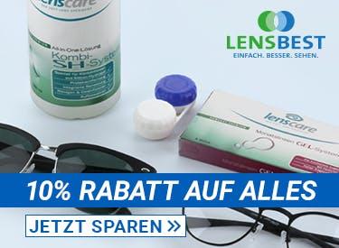 10% Rabatt bei Lensbest