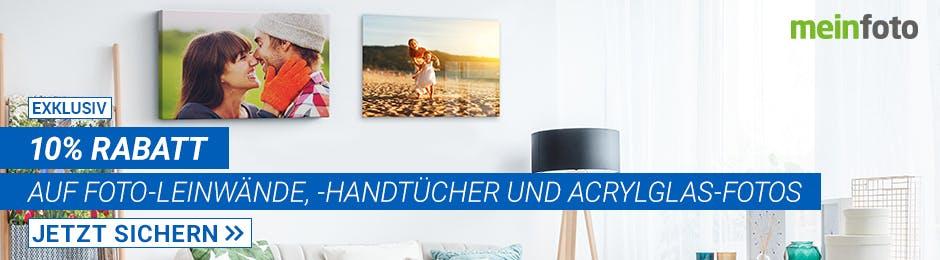 10% Rabatt bei meinFoto.de