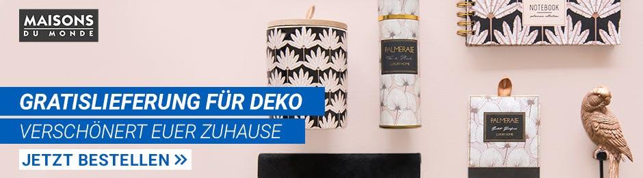 Gratislieferung für Deko
