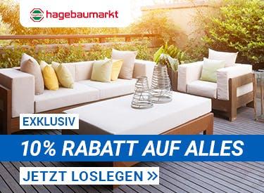 10% Rabatt bei Hagebau.de
