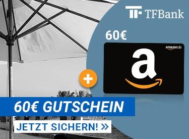 60€ Amazon-Gutschein zur Mastercard