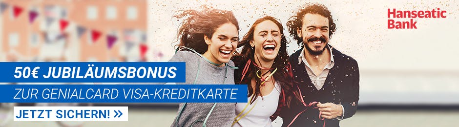 50€ Bonus bei Hanseatic Bank