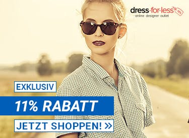 11% Rabatt bei Dress for less