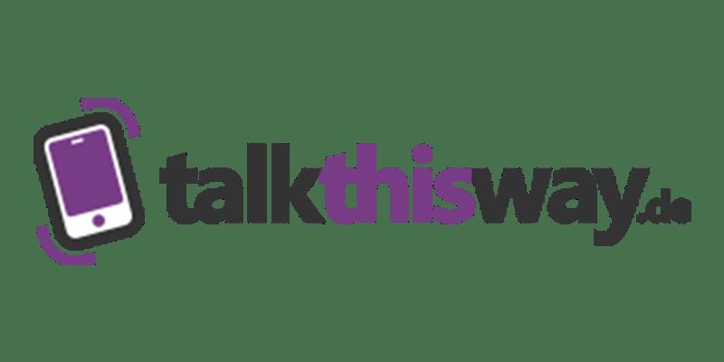 talkthisway Gutschein