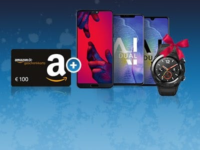Huawei Deals & 100€ Amazon-Gutschein