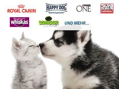 GRATIS: Futterproben für Hunde und Katzen