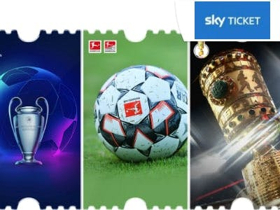 Supersport-Ticket von Sky Ticket: Sport-Events live streamen für 9,99€