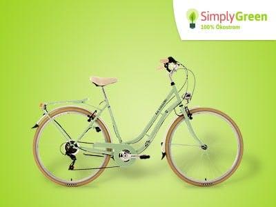Simply Green: Top-Fahrrad + weitere Prämien für Strom- bzw. Gaswechsel