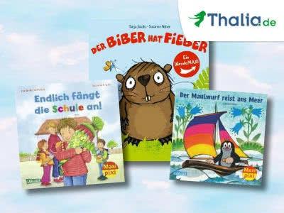 Für die Kleinen: Bilderbücher ab 1€ bei Thalia