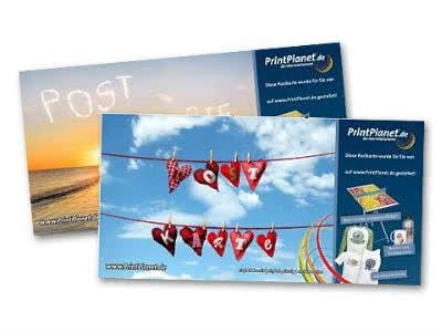 Individuelle Postkarte mit eigenem Foto gratis verschicken