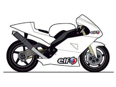 Macht euer Motorrad zum Rennsport-Bike: Gratis-Aufkleber-Set von ELF