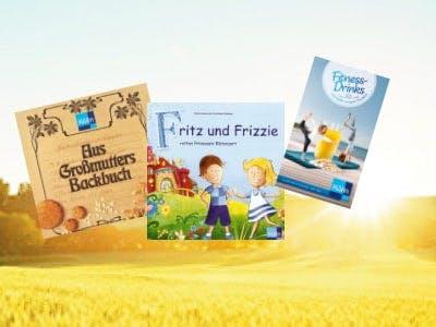 Für Genießer: Gratis Rezeptbroschüren, Malbücher & Ratgeber von Kölln