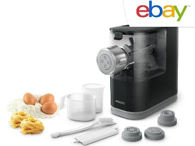 Pasta wie in Italien: Nudelmaschine von Philips für nur 79,99€