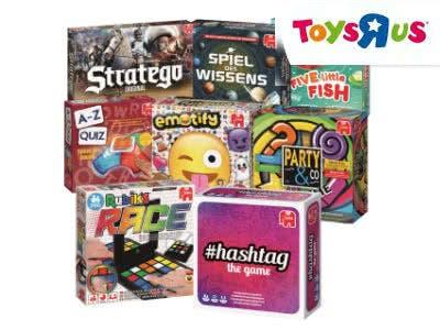 Bis zu 17,50€ Cashback auf Jumbo-Spiele bei ToysRUs