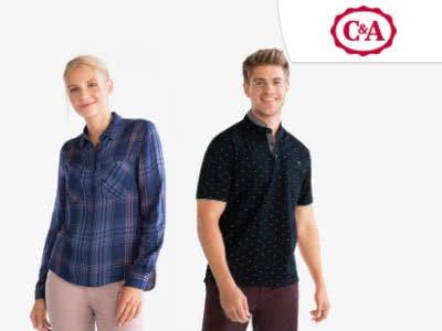 Mega-Sale bei C&A: Bis zu 50% Rabatt + 10% extra mit Newsletter