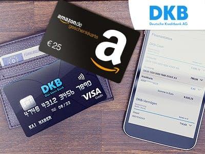 Kostenloses DKB Cash Konto mit 25€-Amazon.de-Gutschein