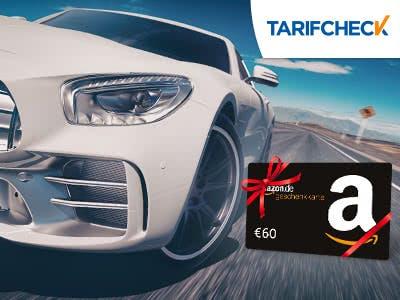 Bis zu 850€ sparen + 60€-Amazon.de-Gutschein für KFZ-Versicherungswechsel