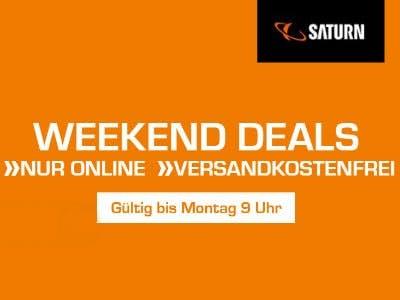 Weekend Deals bei Saturn: Viele Artikel zu TOP-Preisen