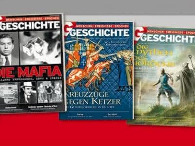 """4 Ausgaben """"G/GESCHICHTE"""" für nur 4€"""