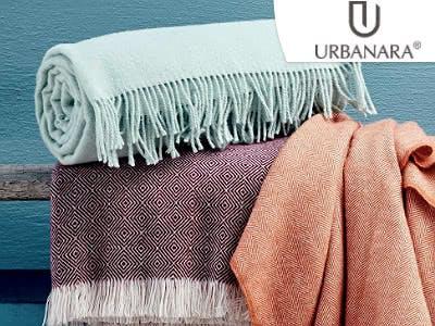 Herbstzeit ist Kuschelzeit: bis zu 40% Rabatt im Mid Season Sale + 10€ ab 50€ bei Urbanara