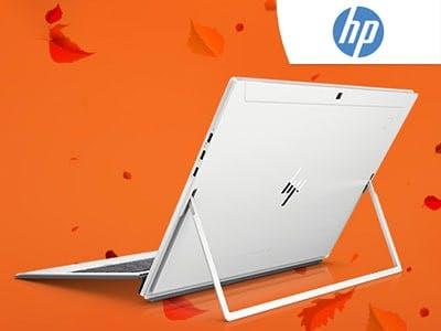 Es rieselt Herbstangebote: mit bis zu 25% Rabatt bei HP