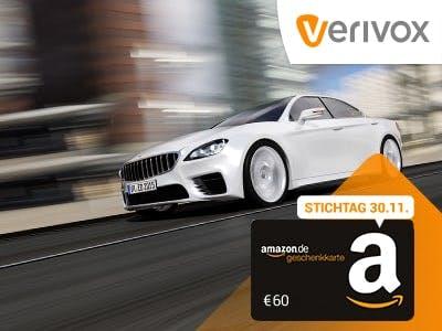 60€-Amazon.de-Gutschein für KFZ-Versicherungs-Wechsel