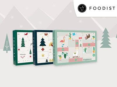 Exklusive Foodist-Aktion: 5€ Rabatt auf alle Adventskalender