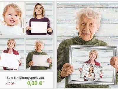 Tolles Weihnachtsgeschenk: kostenloses Generationen-Foto