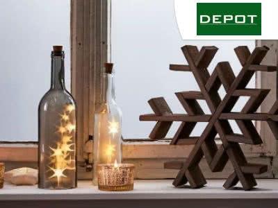 Zeit für neue Deko: 10€ Rabatt bei Depot ab 80€ MBW