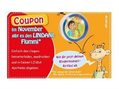 Für Kinder: Gratis-Flummi in LINDA Apotheken erhalten