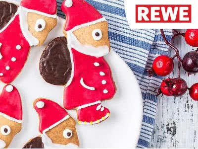Malen, basteln, naschen: gratis Nikolausstiefel bei REWE