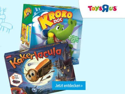 50% Rabatt auf das 2. Gesellschaftsspiel bei ToysRUs