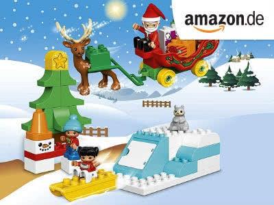 Nur 16,99€: LEGO Duplo  - Winterspaß mit dem Weihnachtsmann (Prime-Mitglieder)