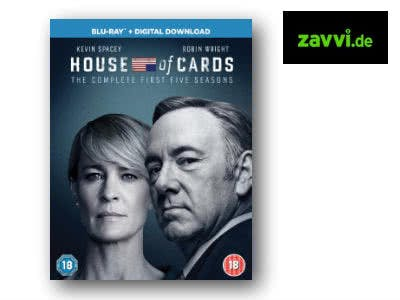 "Nur 49,99€: ""House of Cards"" Staffeln 1-5 (Blu-ray)"