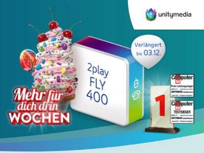 Nur 19,99€/Monat: DSL mit bis zu 400 Mbit/s bei Unitymedia