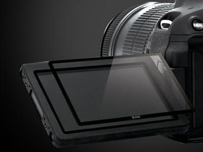 Kamera-Displayschutzfolie gratis zur Newsletteranmeldung