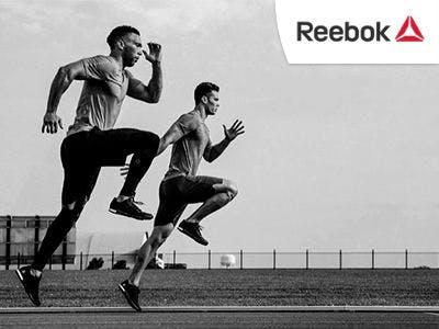 Sportliche 25% Rabatt bei Reebok