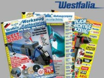 Für Heimwerker: Gratis-Kataloge von Westfalia bestellen