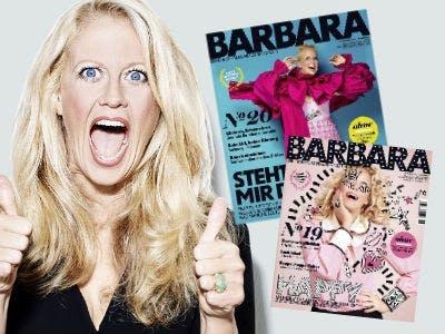 """Barbara"" E-Paper: 2 Ausgaben kostenlos"