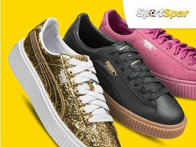 Coole Damen Plateau Sneaker von Puma ab 34,99€