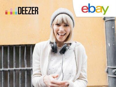 Bis zu 50% Rabatt auf Deezer Premium bei eBay