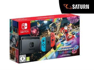 Nur 299€: Nintendo Switch Mario Kart 8 Deluxe Bundle