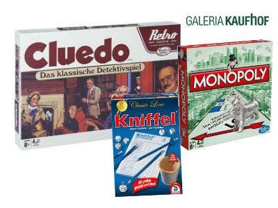 Gesellschaftsspiele drastisch reduziert bei GALERIA Kaufhof