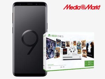 120€ sparen: Samsung Galaxy S9+ inkl. Microsoft Xbox One S 1TB
