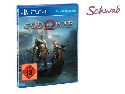 God of War für PS4 für nur 25,93€ bei Schwab