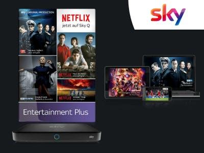 Wieder verfügbar! Serien auf Sky und Netflix dauerhaft für 19,99€/Monat