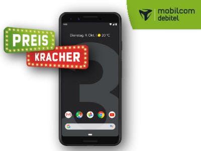 Google Pixel 3 (64 GB) für 599€ bei Mobilcom-Debitel