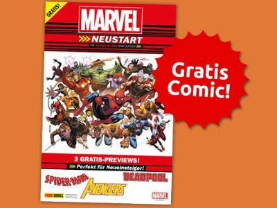 Am 26.01.19: Gratis-Comic, Pins und Postkarten zum Marvel-Tag!