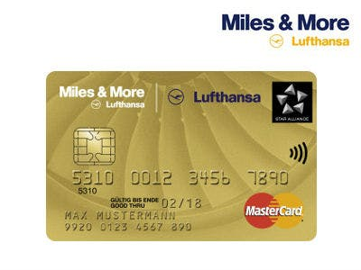 Miles & More Kreditkarte mit 20.000 Prämienmeilen