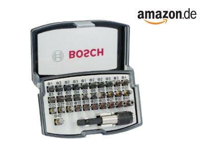 Bosch 32tlg. Bit Set für nur 8,81€ für Amazon Prime-Mitglieder